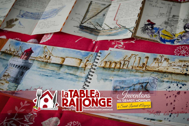 Stage Carnet de Voyage en Camargue