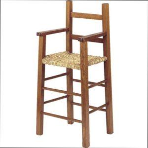 Chaise haute pour enfant à LA TABLE à RALLONGE