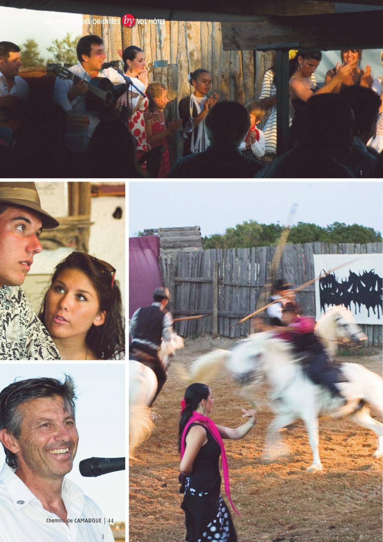 Guide des Chemins de Camargue un guide touristique incontournable réalisé par Patrick CHERRI pour LA TABLE A RALLONGE l'auberge festive de Camargue au +33683914241